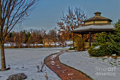 Webster Ny Photograph - Walk In The Park by William Norton