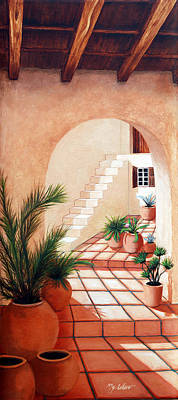 Steps Painting - Walk Into The Light by Mary Grden's Baywood Gallery