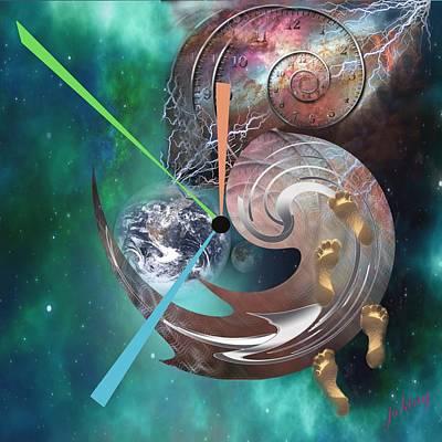 Mango Digital Art - Walk Through Eternity by Jacquie King