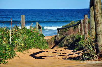 Walkway To Beach Original by Kaye Menner