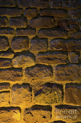 Old Photograph - Wall Detail Of The Medieval Castle Of Silves 2 by Angelo DeVal
