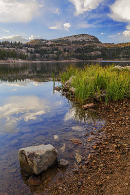 Forest Light Photograph - Wall Lake by Chad Dutson