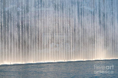 Light Photograph - Wall Of Water by Andy Smy