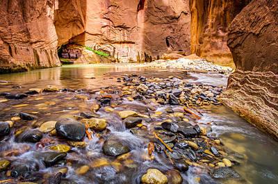 Zion National Park Photograph - Wall Street Zion National Park by Scott McGuire