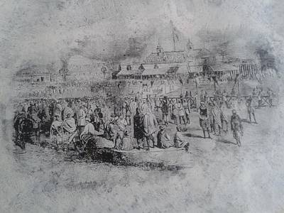 Old City Of Lahore Print by Zubair Qureshi