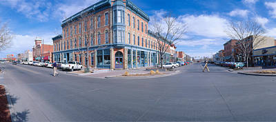 Walnut & Linden Streets, Fort Collins Print by Panoramic Images