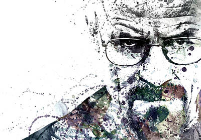 Walter White Print by Dante Blacksmith