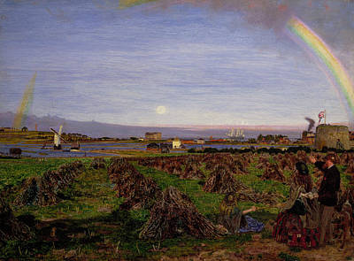 Walton-on-the-naze Print by Ford Madox Brown