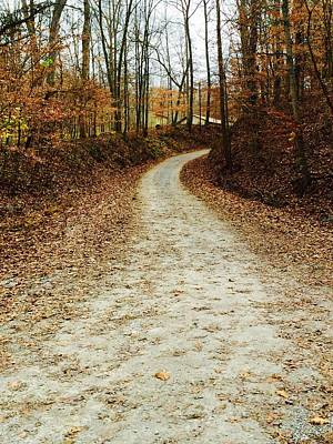 Southern Indiana Photograph - Wandering Road by Russell Keating