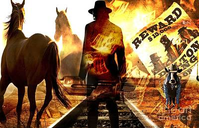 Wanted Cowboy Original by LDS Dya