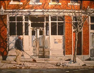 War At Home Print by Thomas Akers