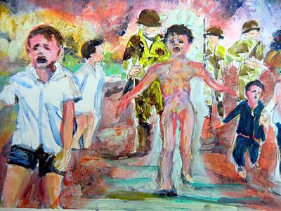 War Original by Mindy Newman
