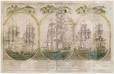 War Of 1812: Victories Print by Granger