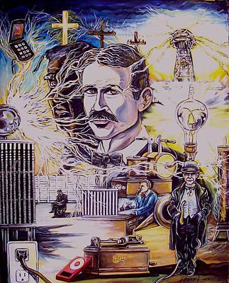 War Of Currents Print by James Henry