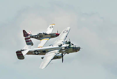 B25 Photograph - Geneseo Warbirds Airshow #1 by Joe Granita