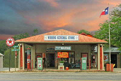 General Store Photograph - Waring General Store by Robert Anschutz