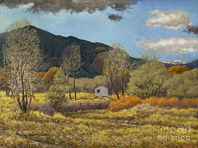 Mountain Painting - Warm Day In February by James Robert MacMillan