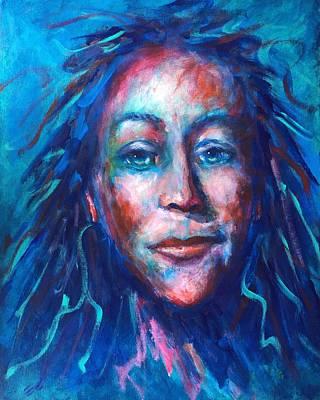 Warrior Goddess Painting - Warrior Goddess by Shannon Grissom
