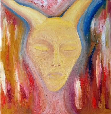 Self Discovery Painting - Warrior Within by Melissa Mclean