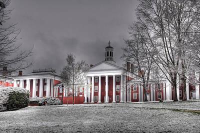 Rockbridge Photograph - Washington And Lee Law School by Todd Hostetter
