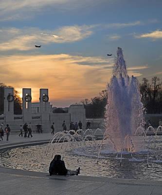 Evening Scenes Photograph - Washington Dc Rhythms  by Betsy Knapp