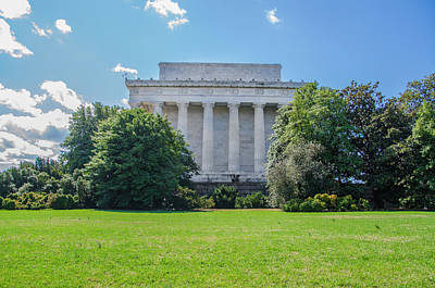 Lincoln Memorial Digital Art - Washington Dc - The Lincoln Memorial by Bill Cannon