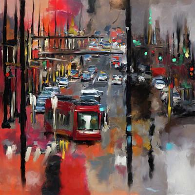 Washington D.c Painting - Washington I 471 1 by Mawra Tahreem