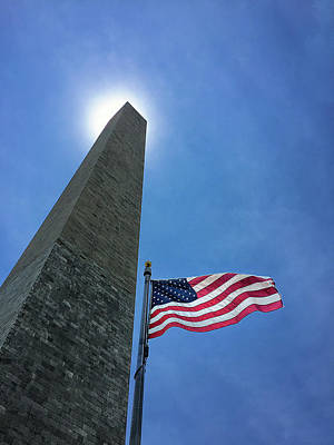 George Washington Photograph - Washington Monument by Andrew Soundarajan