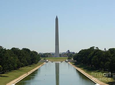 Washington Monument Painting - Washington Monument by Rod Jellison