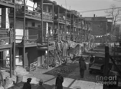 Washington Slum, 1935 Print by Granger