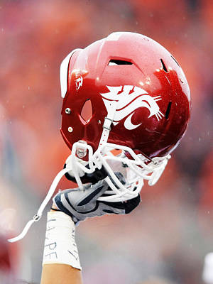 Washington State Helmet  Print by Getty Images
