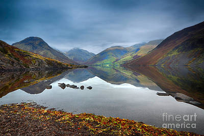 Wast Water Print by Stephen Smith
