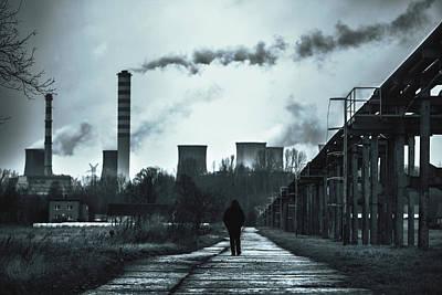 Apo Photograph - Wasteland by Joanna Jankowska