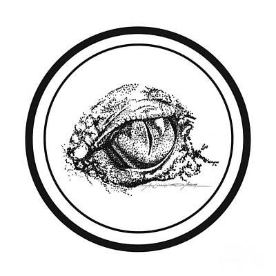 Watchfuleye Print by Roa Malubay