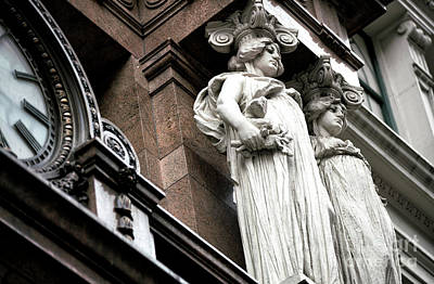 Photograph - Watching Over Macy's by John Rizzuto