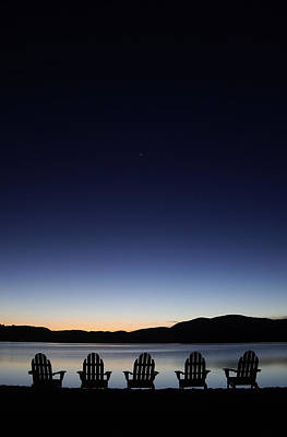 Mountains Photograph - Watching The First Star by Ed Book