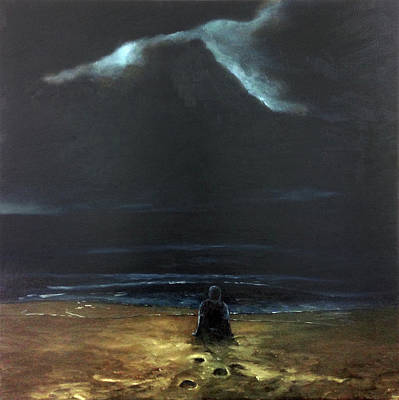 Summer Thunderstorm Painting - Watching The Storm by Brian Milcinovic