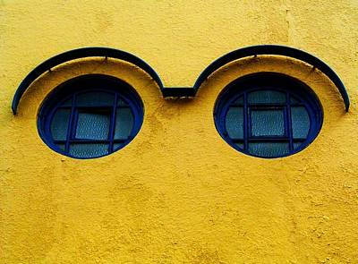 Mauer Photograph - Watching You ... by Juergen Weiss