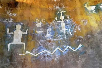 Petroglyph Photograph - Watchtower Rock Art  by Julie Niemela