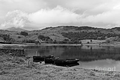 Watendlath Tarn In The Lake District Cumbria Print by Louise Heusinkveld