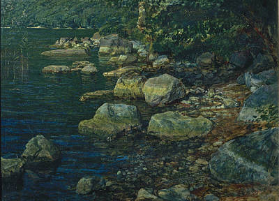 Painting - Water And Stones Near Palazzuola by Alexander Andreyevich Ivanov