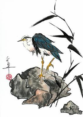 Linda Smith Painting - Water Bird by Linda Smith