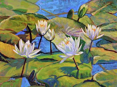 Water Lilies 6 Original by Keith Burgess