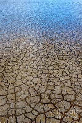 Mud Season Photograph - Water Over Drought by Carlos Caetano