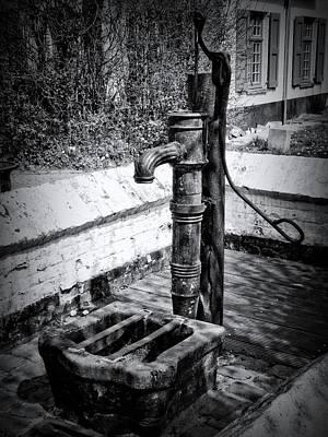 Water Pump Print by Wim Lanclus