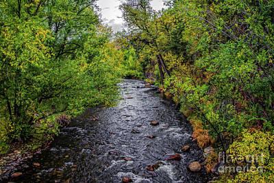 Water Under The Bridge Print by Jon Burch Photography