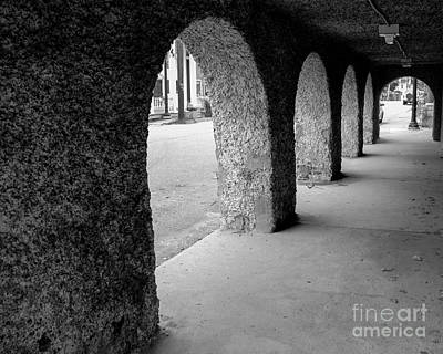 Water Works Arches Print by Jeffrey Miklush