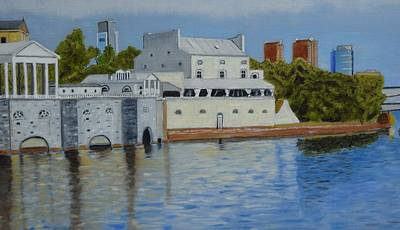 Water Works Restaurant Original by Michael Walsh