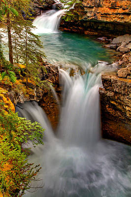 Waterfall Canyon Print by Scott Mahon