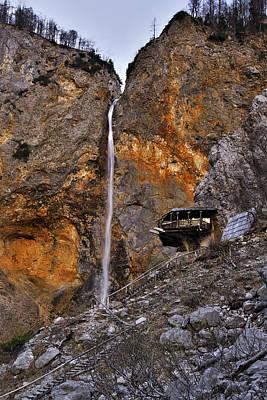 Beautiful Photograph - Waterfall Rinka by Ivan Slosar